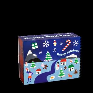 12 Days Of Christmas Socks Gift Set 12-Pack
