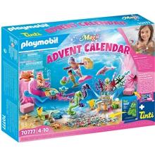 70777 Playmobil Adventskalender Bad Sjöjungfru