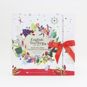 English Tea Shop Adventskalender Wellness bok EKO