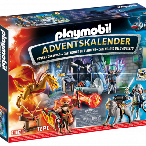 Playmobil Advent Calendar Fight for the magic Stone