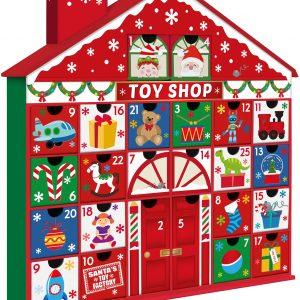 Toy Shop - Julkalender 40x39 cm
