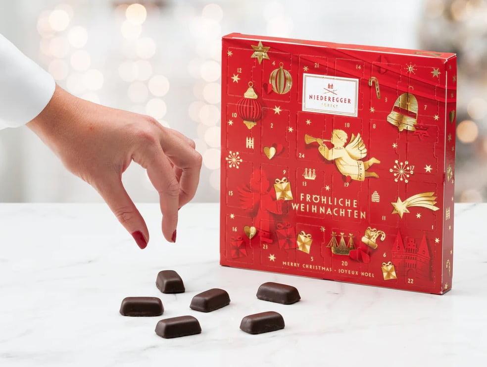 chokladkalender med marsipan