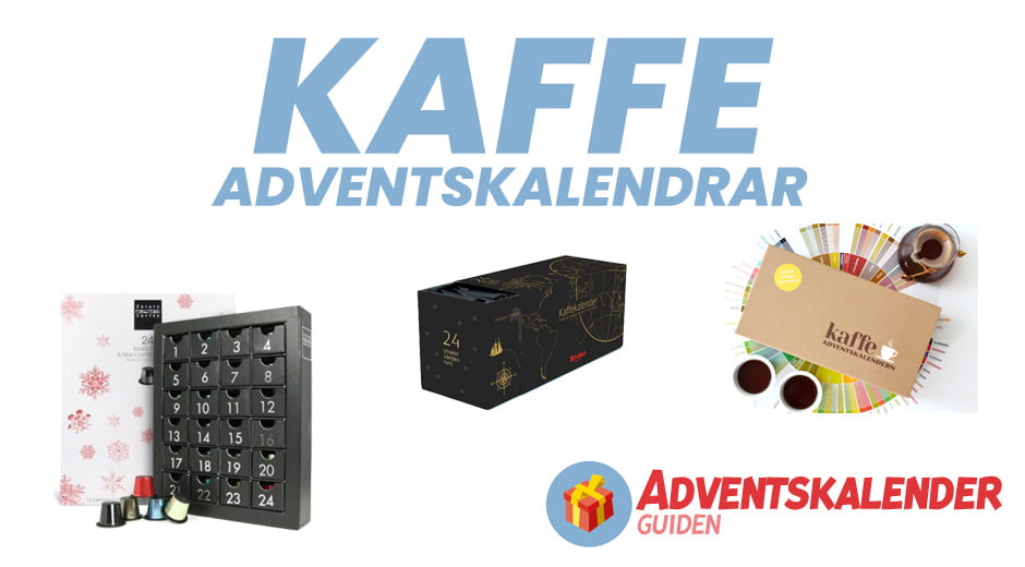 Kaffe adventskalendrar