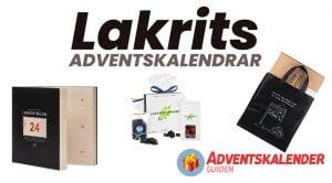 lakritskalendrar - adventskalendrar med lakrits
