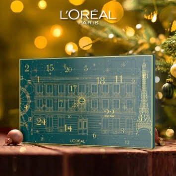 Loreal Paris adventskalender skönhet