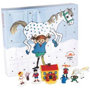 Pippi Långstrump julkalender för barn