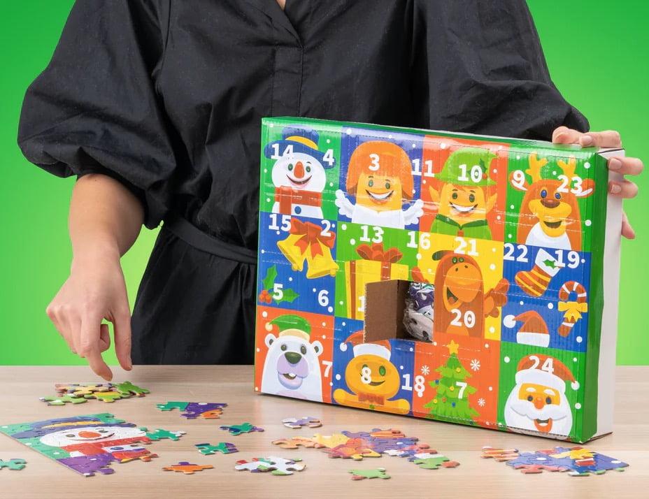 pusselkalender för barn från 3 år